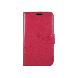 Samsung Galaxy J1 (2016) - Preklopna torbica (WLGO) - rdeča
