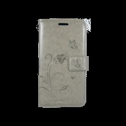 Samsung Galaxy J1 (2016) - Preklopna torbica (WLGO) - siva