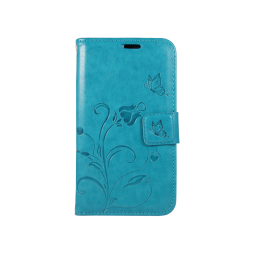 Samsung Galaxy J1 (2016) - Preklopna torbica (WLGO) - turkizna