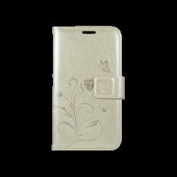 Samsung Galaxy J1 (2016) - Preklopna torbica (WLGO) - zlata