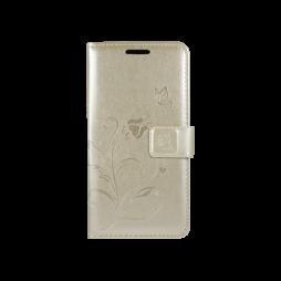 LG K10 - Preklopna torbica (WLGO) - zlata