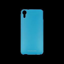 HTC Desire 825/10 Lifestyle - Gumiran ovitek (TPUM) - modro-prosojen mat