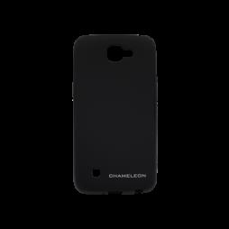 LG K4 - Gumiran ovitek (TPUM) - črn mat