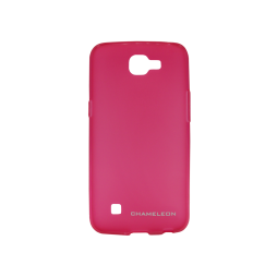LG K4 - Gumiran ovitek (TPUM) - roza-prosojen mat