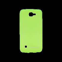 LG K4 - Gumiran ovitek (TPUM) - zeleno-prosojen mat
