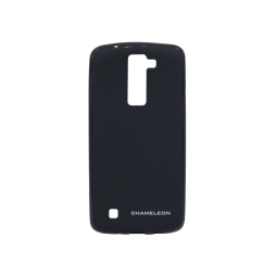 LG K8 - Gumiran ovitek (TPUM) - črn mat