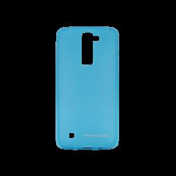 LG K8 - Gumiran ovitek (TPUM) - modro-prosojen mat