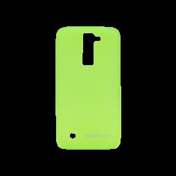 LG K8 - Gumiran ovitek (TPUM) - zeleno-prosojen mat