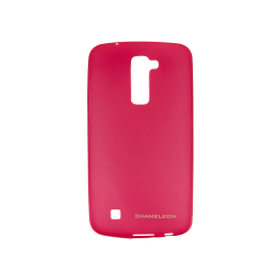 LG K10 - Gumiran ovitek (TPUM) - roza-prosojen mat