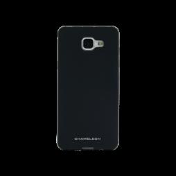 Samsung Galaxy A3 (2016) - Gumiran ovitek (TPUM) - črn mat