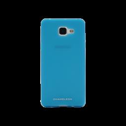 Samsung Galaxy A3 (2016) - Gumiran ovitek (TPUM) - modro-prosojen mat
