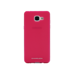 Samsung Galaxy A3 (2016) - Gumiran ovitek (TPUM) - roza-prosojen mat