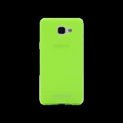 Samsung Galaxy A3 (2016) - Gumiran ovitek (TPUM) - zeleno-prosojen mat