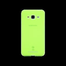 Samsung Galaxy J3 (2016) - Gumiran ovitek (TPUM) - zeleno-prosojen mat
