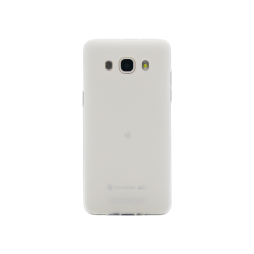 Samsung Galaxy J5 (2016) - Gumiran ovitek (TPUM) - belo-prosojen mat