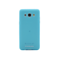 Samsung Galaxy J5 (2016) - Gumiran ovitek (TPUM) - modro-prosojen mat