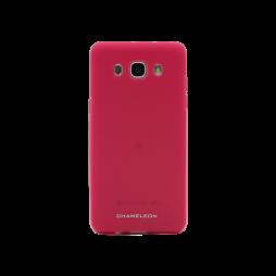 Samsung Galaxy J5 (2016) - Gumiran ovitek (TPUM) - roza-prosojen mat