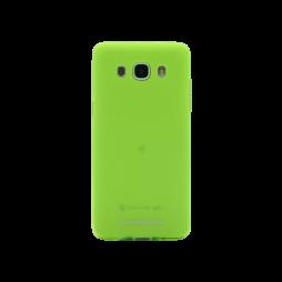 Samsung Galaxy J5 (2016) - Gumiran ovitek (TPUM) - zeleno-prosojen mat