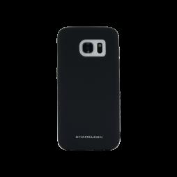 Samsung Galaxy S7 Edge - Gumiran ovitek (TPUM) - črn mat