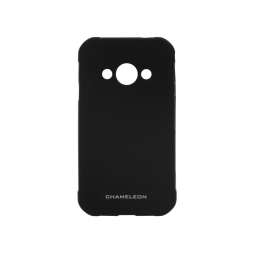 Samsung Galaxy Xcover 3 - Gumiran ovitek (TPUM) - črn mat