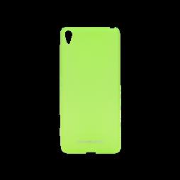 Sony Xperia XA - Gumiran ovitek (TPUM) - zeleno-prosojen mat