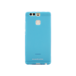 Huawei P9 - Gumiran ovitek (TPUM) - modro-prosojen mat