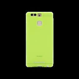 Huawei P9 - Gumiran ovitek (TPUM) - zeleno-prosojen mat