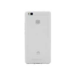 Huawei P9 Lite - Gumiran ovitek (TPUM) - belo-prosojen mat