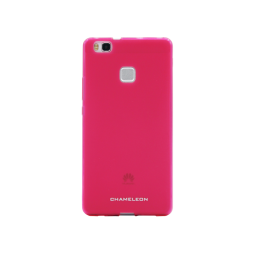 Huawei P9 Lite - Gumiran ovitek (TPUM) - roza-prosojen mat