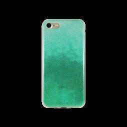Apple iPhone 7/8/SE (2020) - Gumiran ovitek (TPUB) - temno zelena