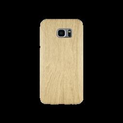 Samsung Galaxy S7 Edge - Gumiran ovitek (27) - svetlo rjav