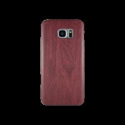Samsung Galaxy S7 Edge - Gumiran ovitek (27) - temno rdeč