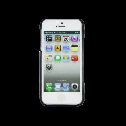 Apple iPhone 5/5S/SE - Okrasni pokrovček (TPL) - temno siv