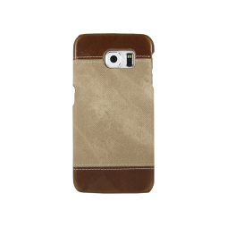 Samsung Galaxy S6 - Okrasni pokrovček (TPL) - rjav
