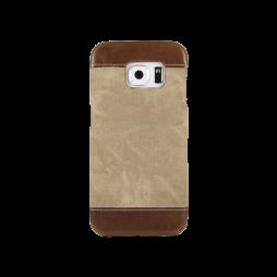Samsung Galaxy S6 Edge - Okrasni pokrovček (TPL) - rjav