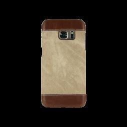 Samsung Galaxy S7 - Okrasni pokrovček (TPL) - rjav