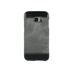 Samsung Galaxy S7 Edge - Okrasni pokrovček (TPL) - temno siv