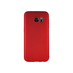 Samsung Galaxy S7 - Okrasni pokrovček (65) - rdeč
