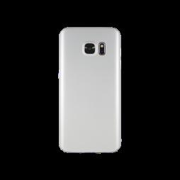 Samsung Galaxy S7 - Okrasni pokrovček (65) - srebrn