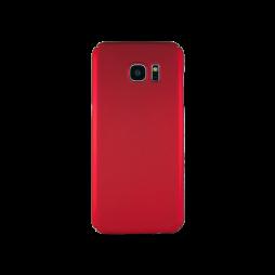 Samsung Galaxy S7 Edge - Okrasni pokrovček (65) - rdeč