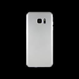 Samsung Galaxy S7 Edge - Okrasni pokrovček (65) - srebrn