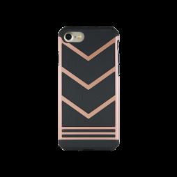 Apple iPhone 7/8/SE (2020) - Gumiran ovitek (ARM-03) - roza-zlat