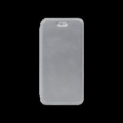 Apple iPhone 6/6S - Preklopna torbica (WLE) - srebrna