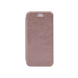Apple iPhone 6 Plus/6S Plus - Preklopna torbica (WLE) - roza-zlata