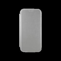 Samsung Galaxy S7 Edge - Preklopna torbica (WLE) - srebrna