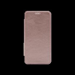 Samsung Galaxy A3 (2016) - Preklopna torbica (WLE) - roza-zlata