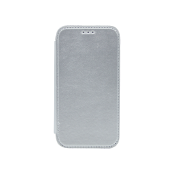 Samsung Galaxy J1 (2016) - Preklopna torbica (WLE) - srebrna