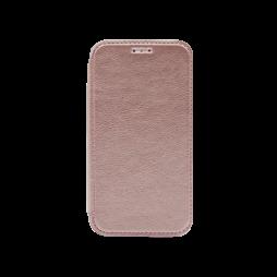 Samsung Galaxy J1 (2016) - Preklopna torbica (WLE) - roza-zlata