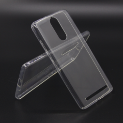 Lenovo Vibe K5 Note - Gumiran ovitek (TPUA) - prosojen