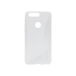 Huawei Honor 8 - Gumiran ovitek (TPU) - belo-prosojen SLine